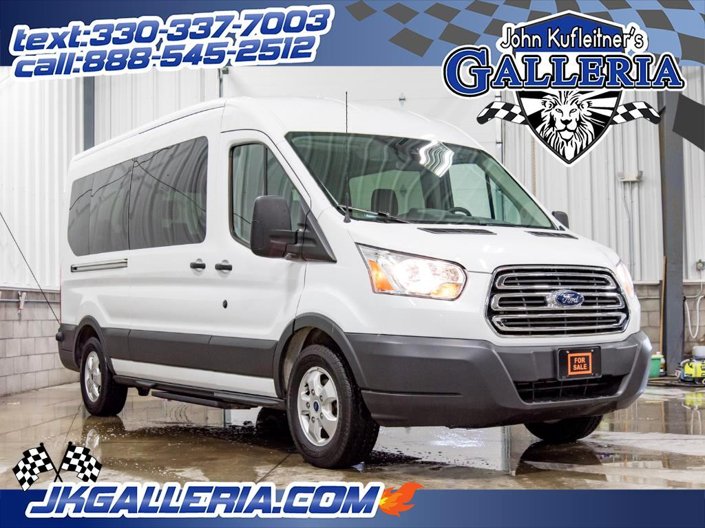 2018 Ford Transit T-350 Medium Roof 15-Passenger Wagon