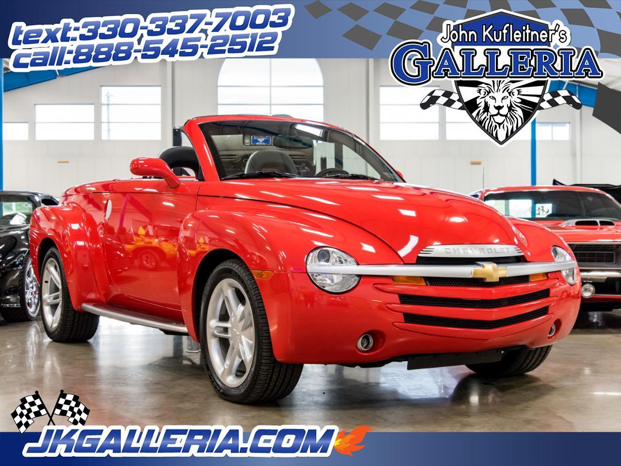 """2003 Chevrolet SSR Reg Cab 116.0"""" WB LS"""