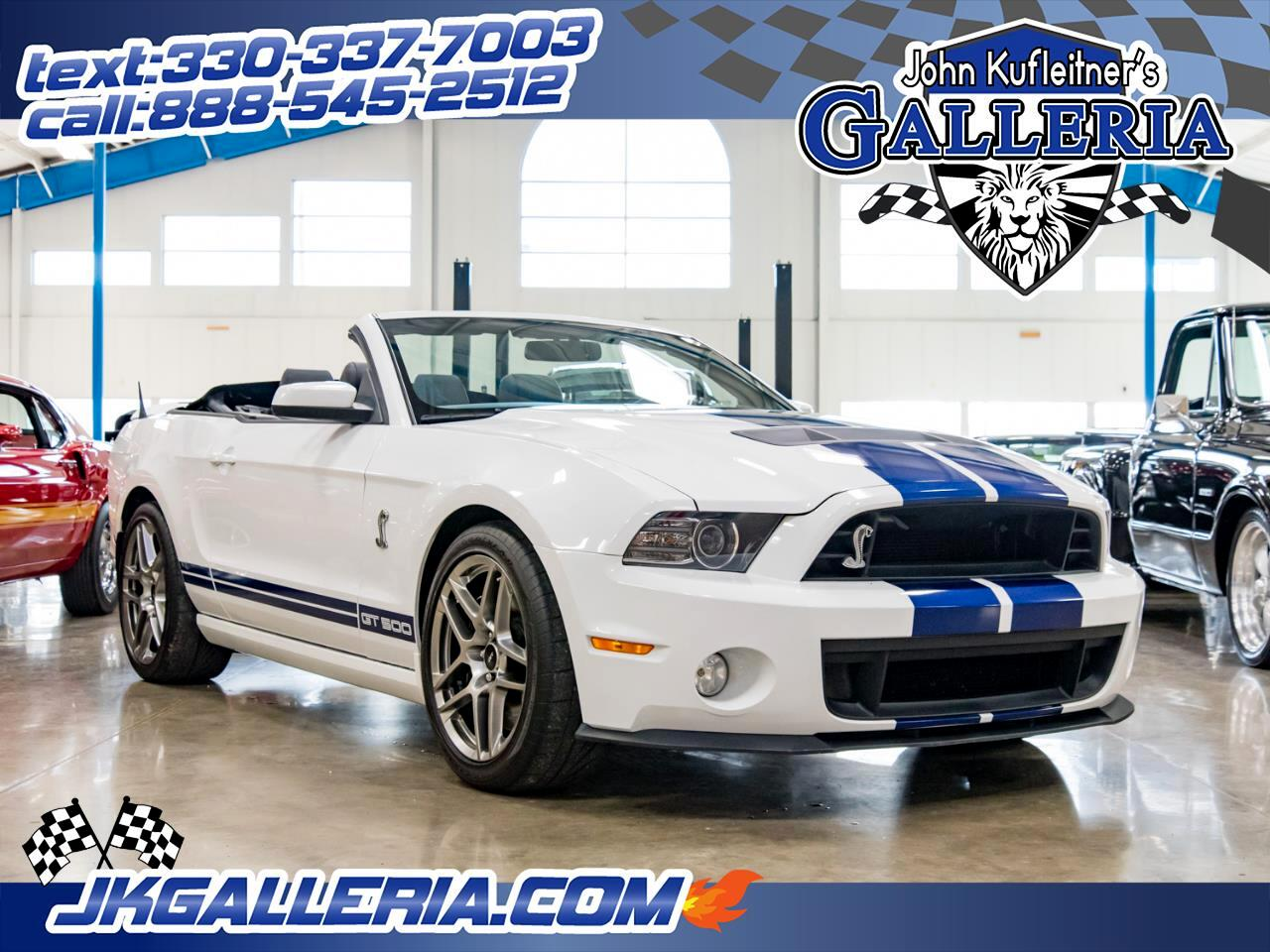 2014 Ford Mustang 2dr Conv Shelby GT500