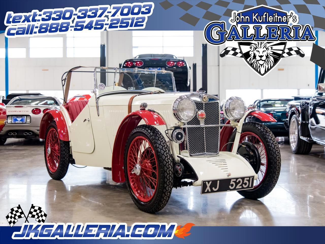 1933 MG Roadster