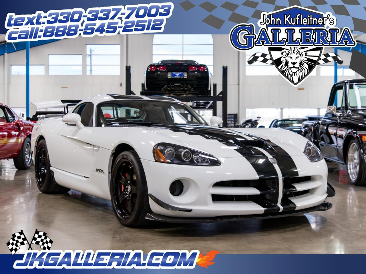 2010 Dodge Viper 2dr Cpe SRT10 ACR *Ltd Avail*