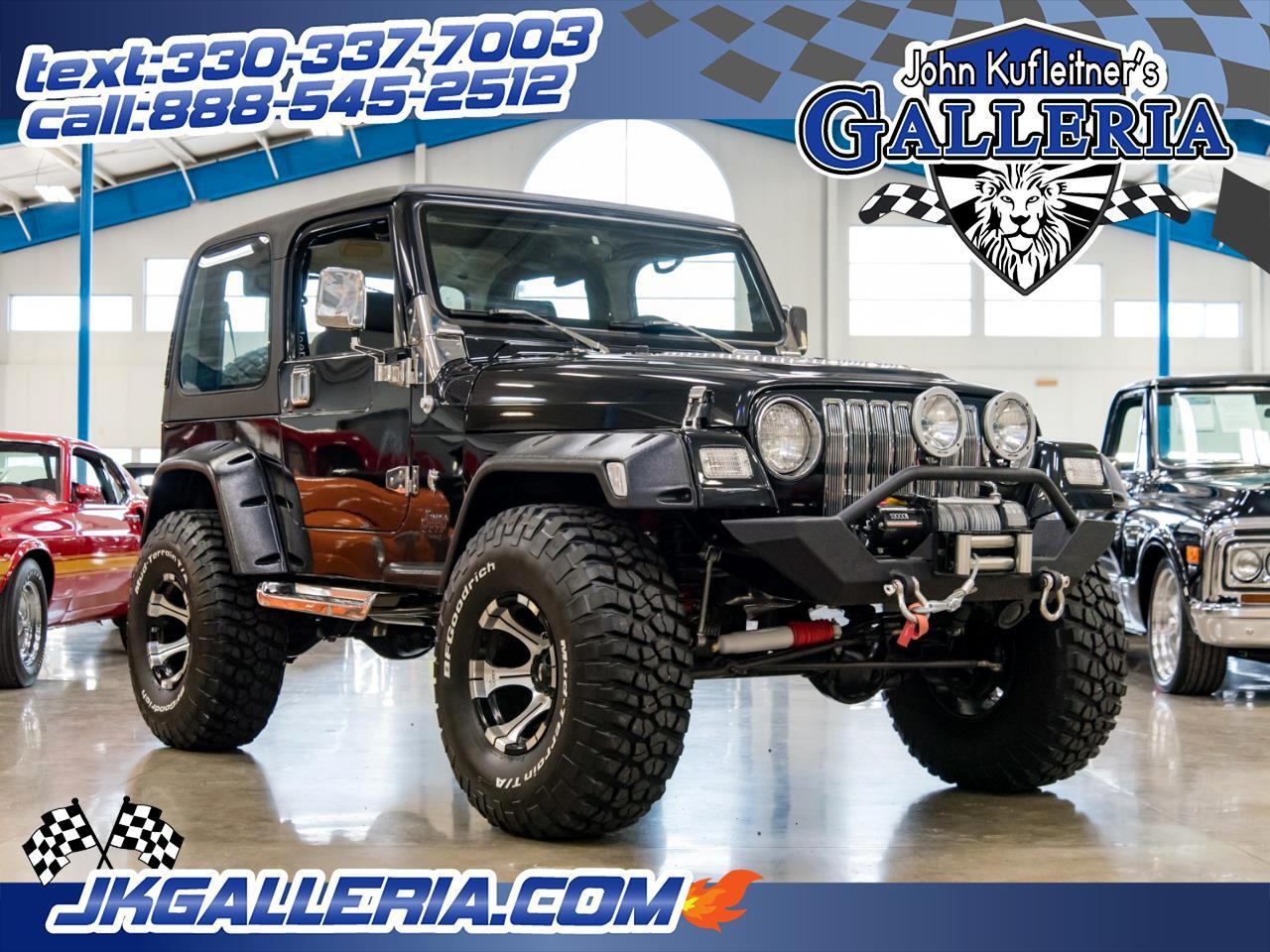 1998 Jeep Wrangler 2dr SE