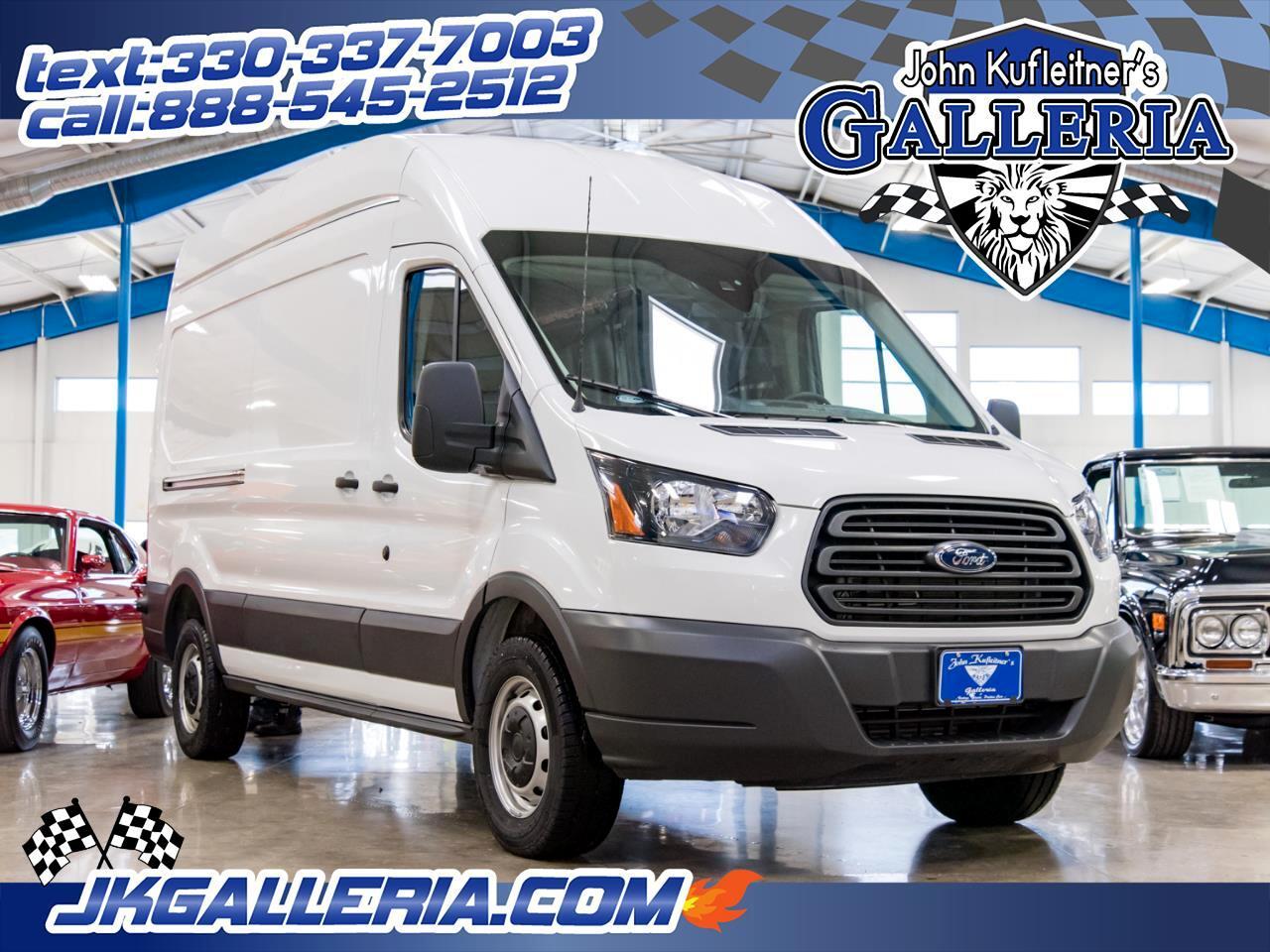 "2018 Ford Transit Van T-250 148"" Hi Rf 9000 GVWR Sliding RH Dr"