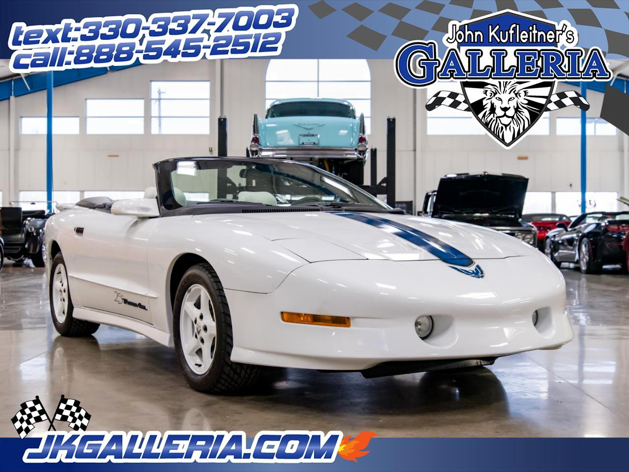 1994 Pontiac Firebird 2dr Trans Am GT Convertible