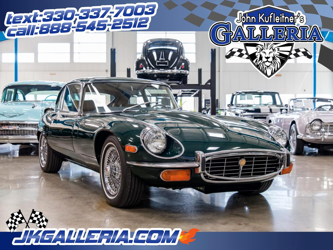 1972 Jaguar E-Type XK-E 2+2 Coupe
