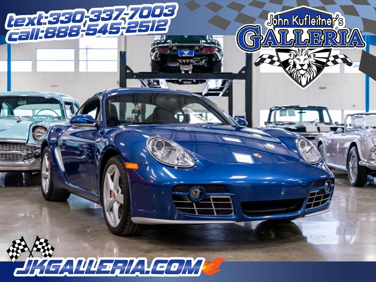 2006 Porsche Cayman 2dr Cpe S