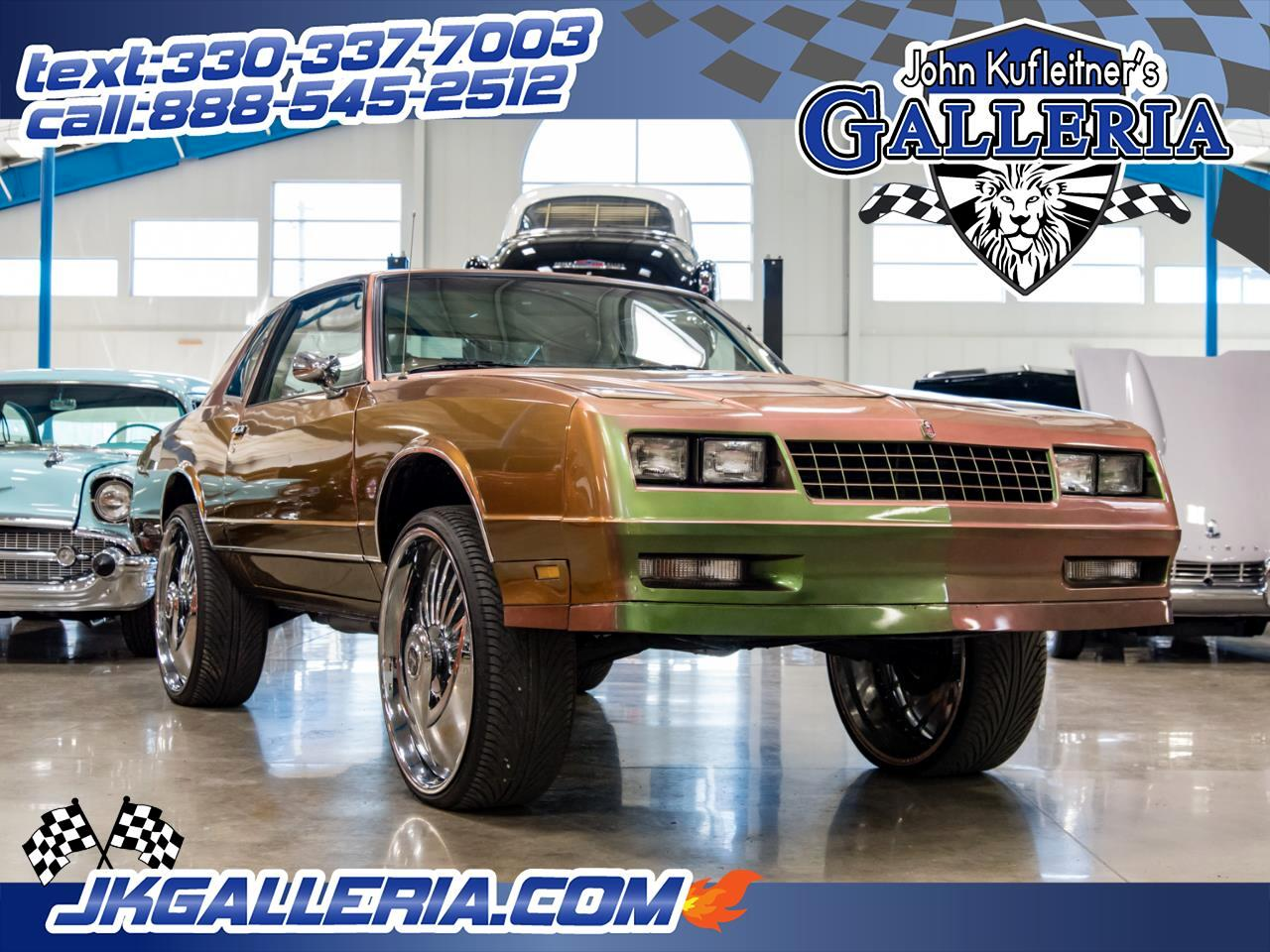 1985 Chevrolet Monte Carlo 2dr Coupe Sport