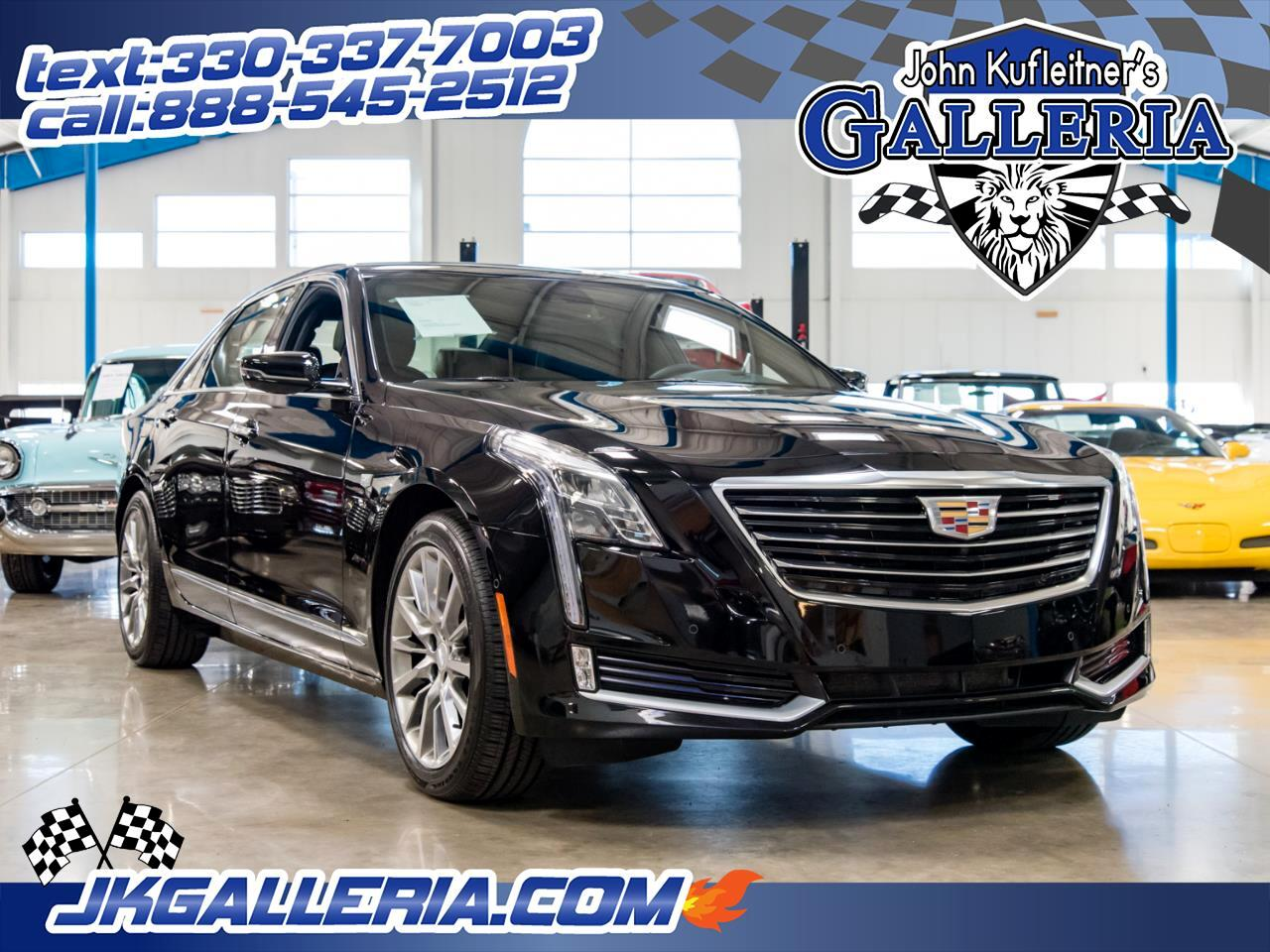 2018 Cadillac CT6 4dr Sdn 3.0L Turbo Luxury AWD