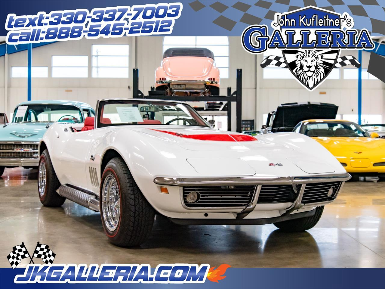 1969 Chevrolet Corvette Stingray Convertible 427 4BBL / 4speed