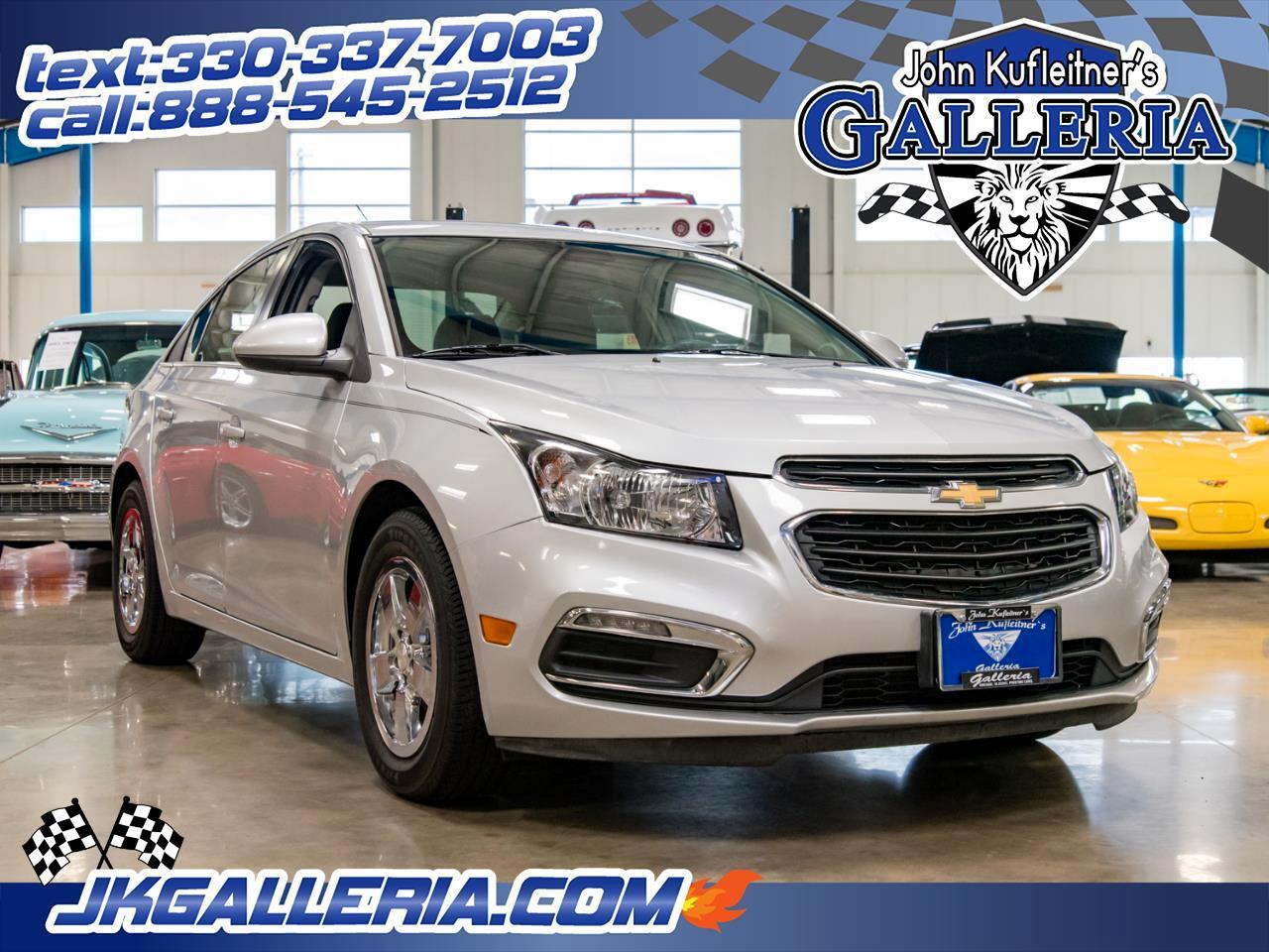 2015 Chevrolet Cruze 4dr Sdn Auto 1LT