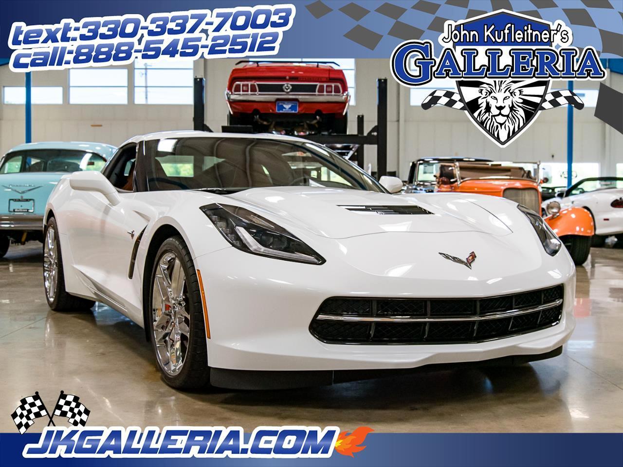 2015 Chevrolet Corvette 2dr Stingray Cpe w/2LT