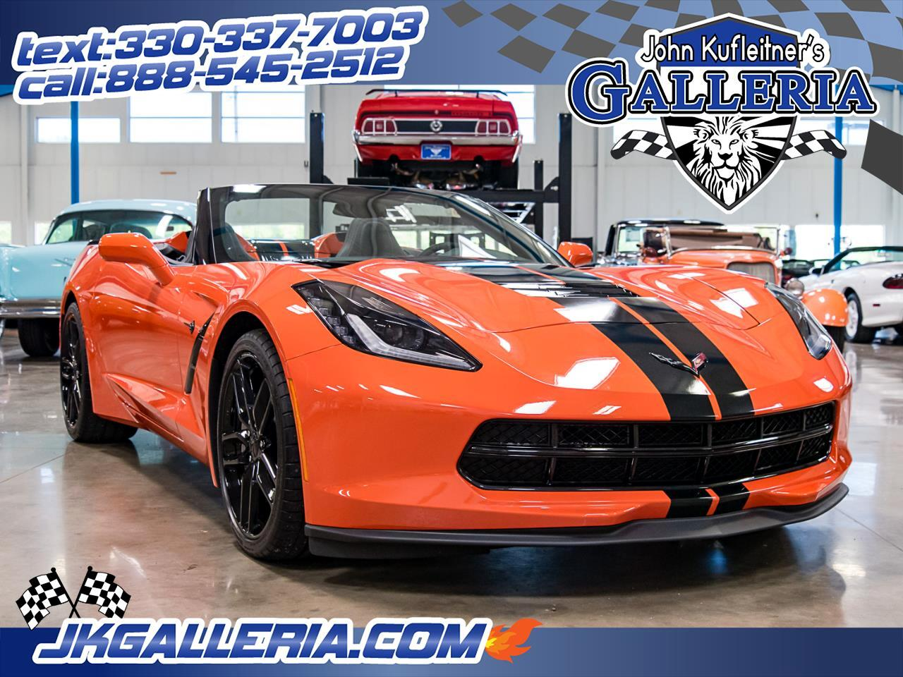 2019 Chevrolet Corvette 2dr Stingray Conv w/1LT
