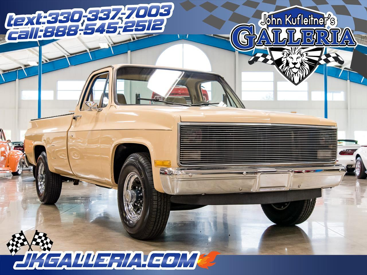 1983 Chevrolet Pickup C20 Fleetside