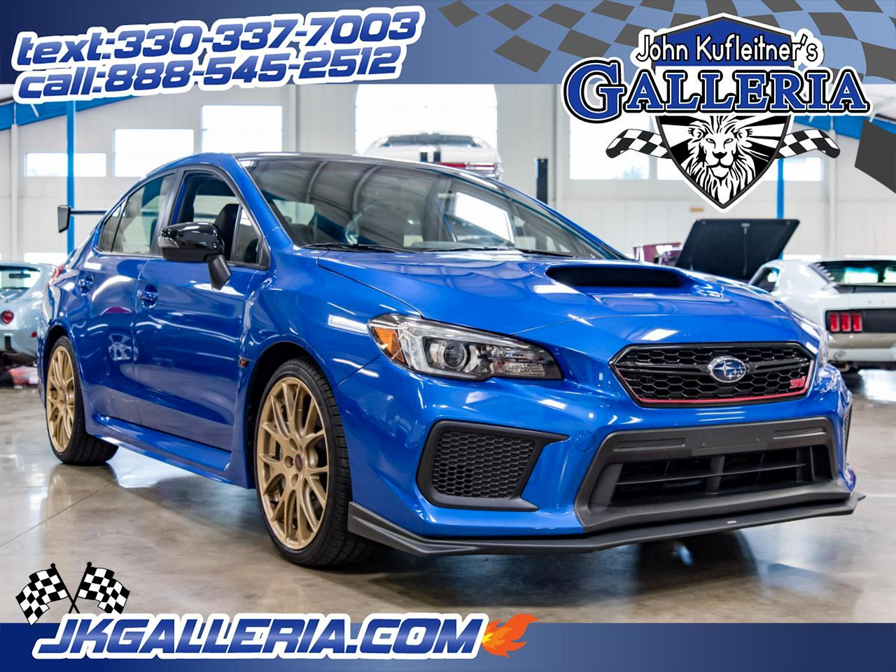 Subaru WRX STI Type RA Manual 2018