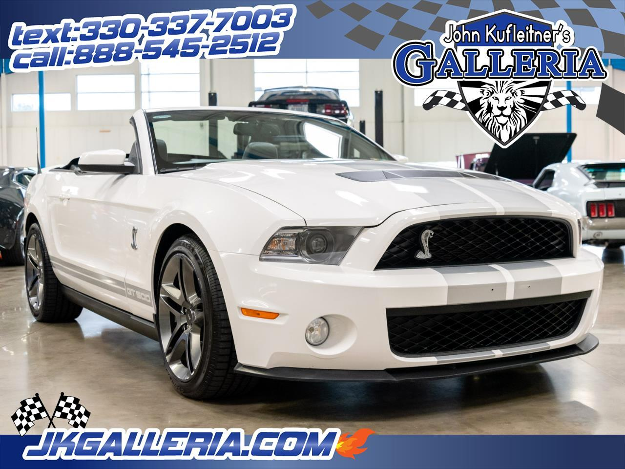 Ford Mustang 2dr Conv Shelby GT500 2012