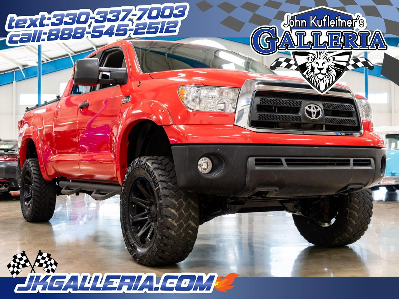 Toyota Tundra 4WD Truck Double Cab 5.7L V8 6-Spd AT (Natl) 2012