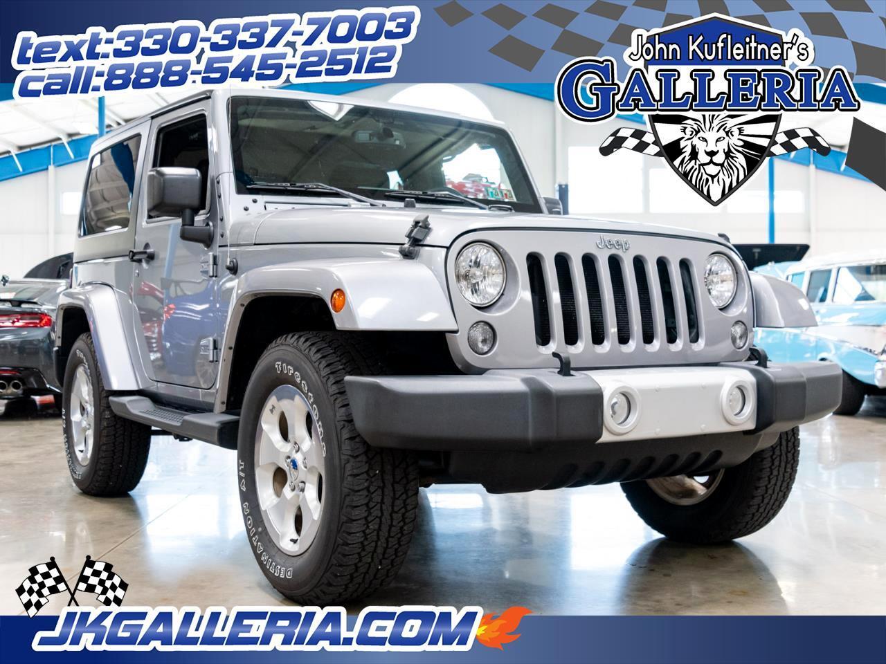 2015 Jeep Wrangler 4WD 2dr Sahara