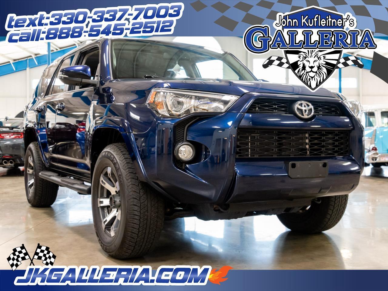 2016 Toyota 4Runner 4WD 4dr V6 Trail Premium (Natl)