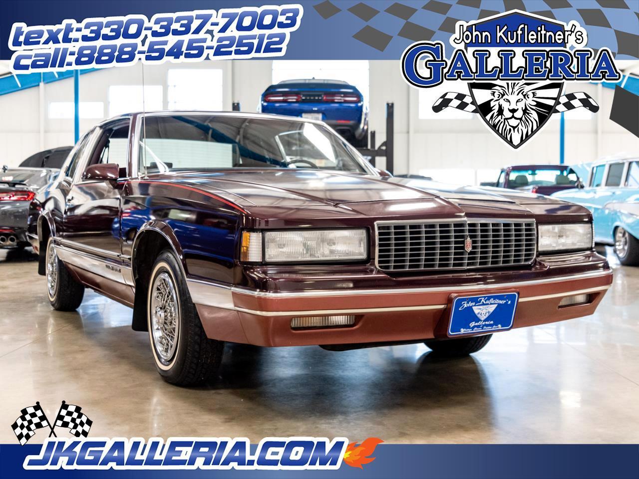 1986 Chevrolet Monte Carlo 2dr Sport Coupe LS