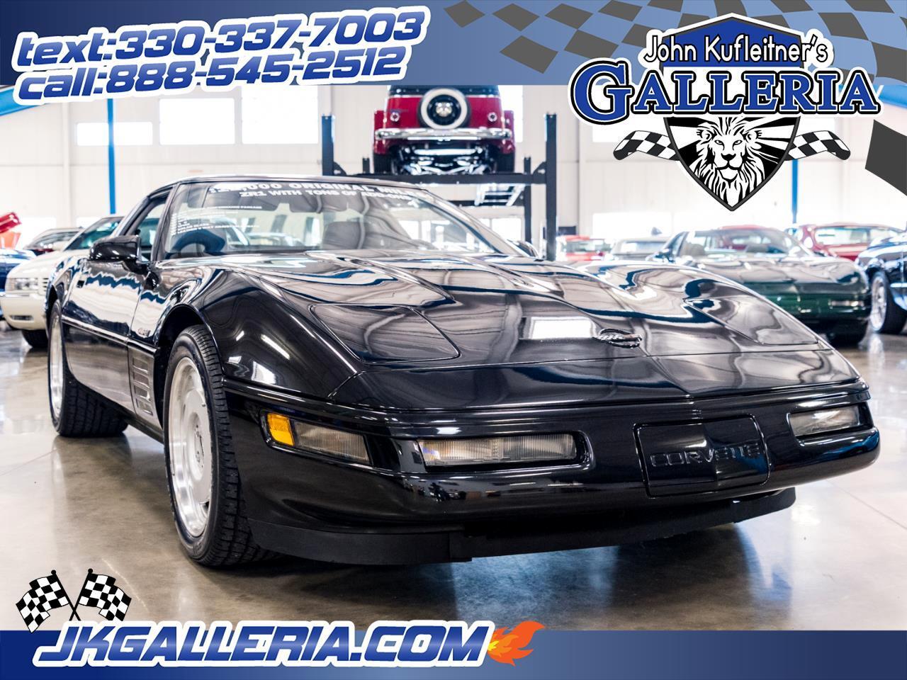 Chevrolet Corvette 2dr Cpe ZR1 w/3ZR 1991