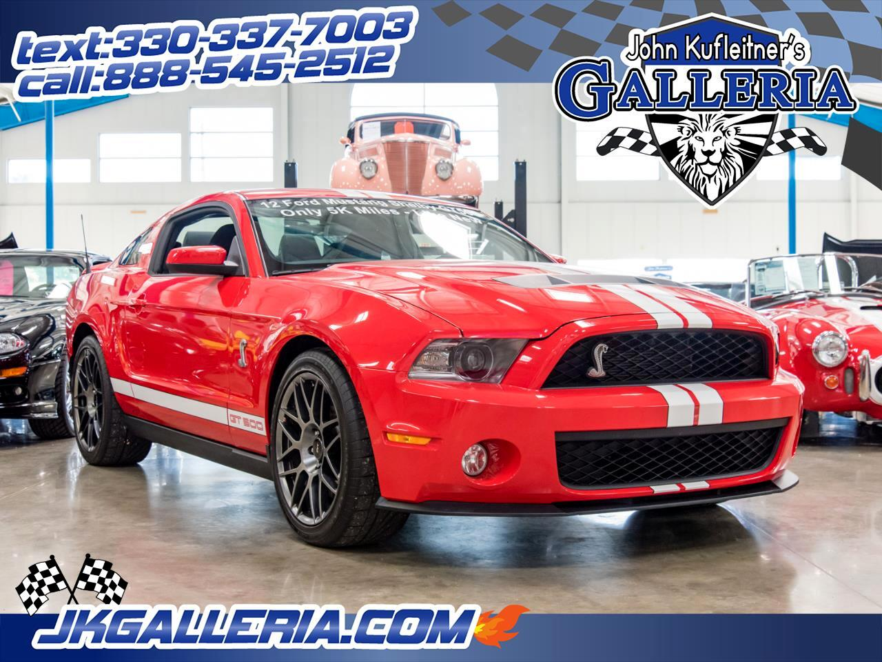 Ford Shelby GT500 Coupe 2012