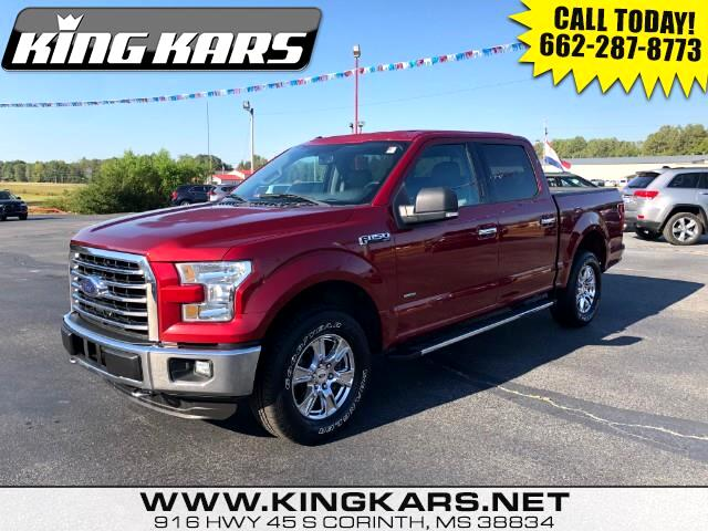 2015 Ford F-150 XLT 4WD SuperCrew 5.5' Box