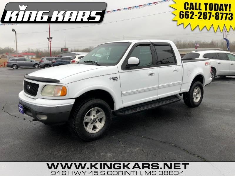 2002 Ford F-150 4WD SuperCab 133