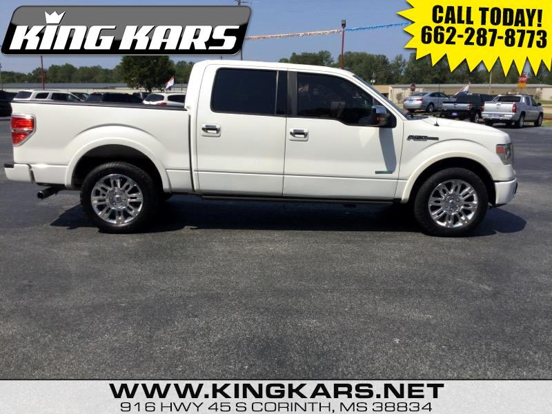 2013 Ford F-150 Platinum SuperCrew 5.5-ft. Bed 2WD