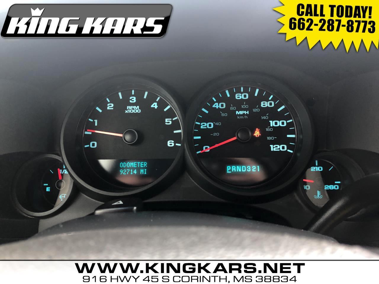 """Chevrolet Silverado 1500 2WD Crew Cab 143.5"""" LS 2012"""