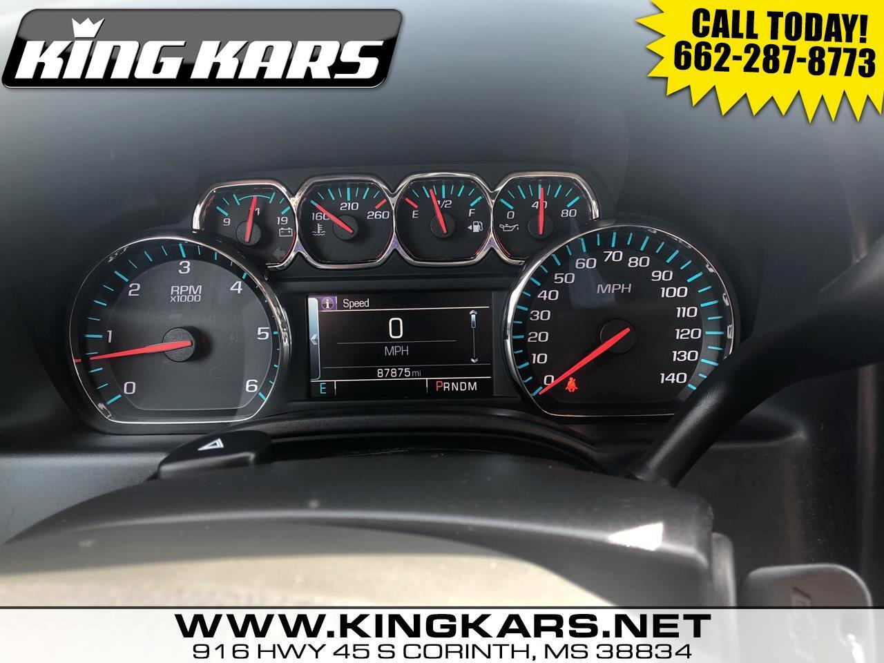 "Chevrolet Silverado 1500 2WD Double Cab 143.5"" LT w/1LT 2016"