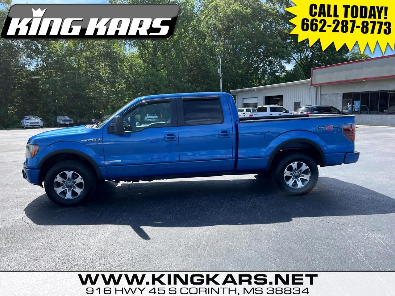 """Ford F-150 4WD SuperCab 133"""" FX4 2011"""