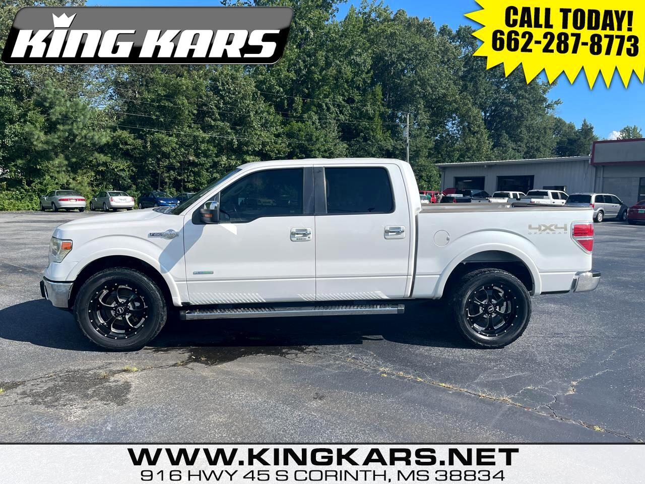 """Ford F-150 4WD SuperCrew 145"""" King Ranch 2013"""