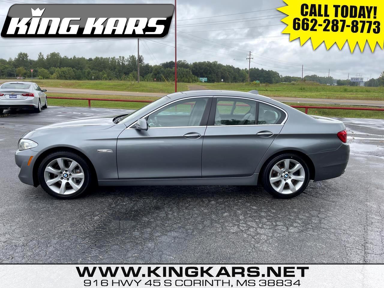 BMW 5 Series 4dr Sdn 550i RWD 2012