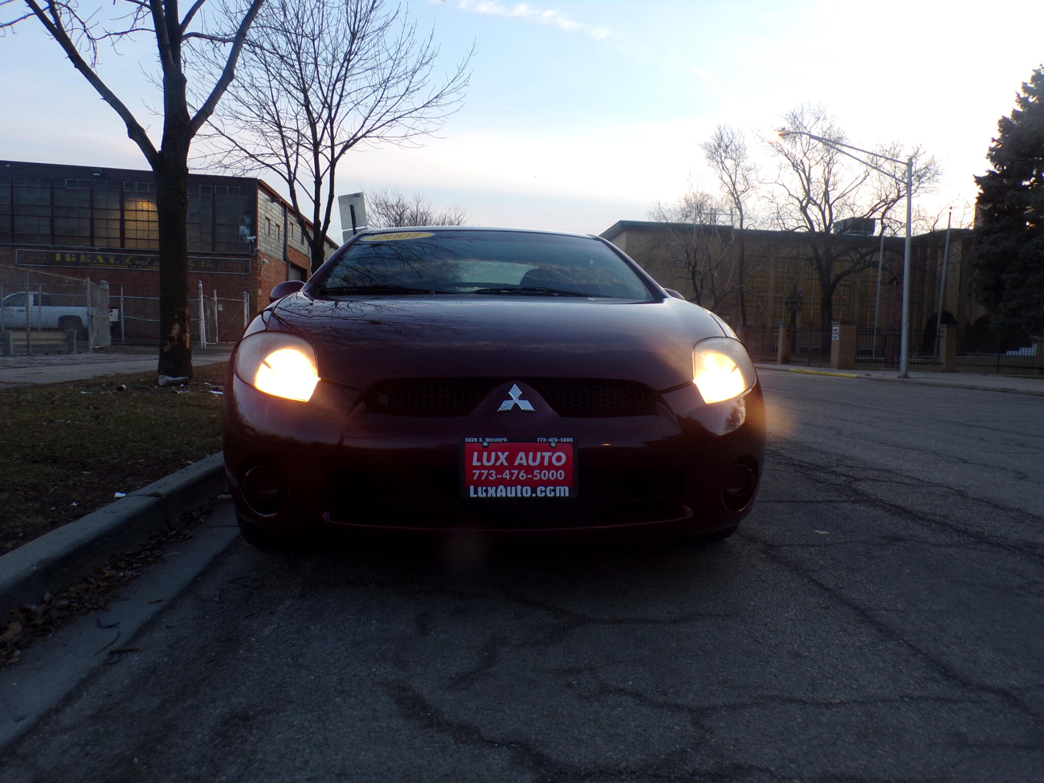 2007 Mitsubishi Eclipse 3dr Cpe Manual GS