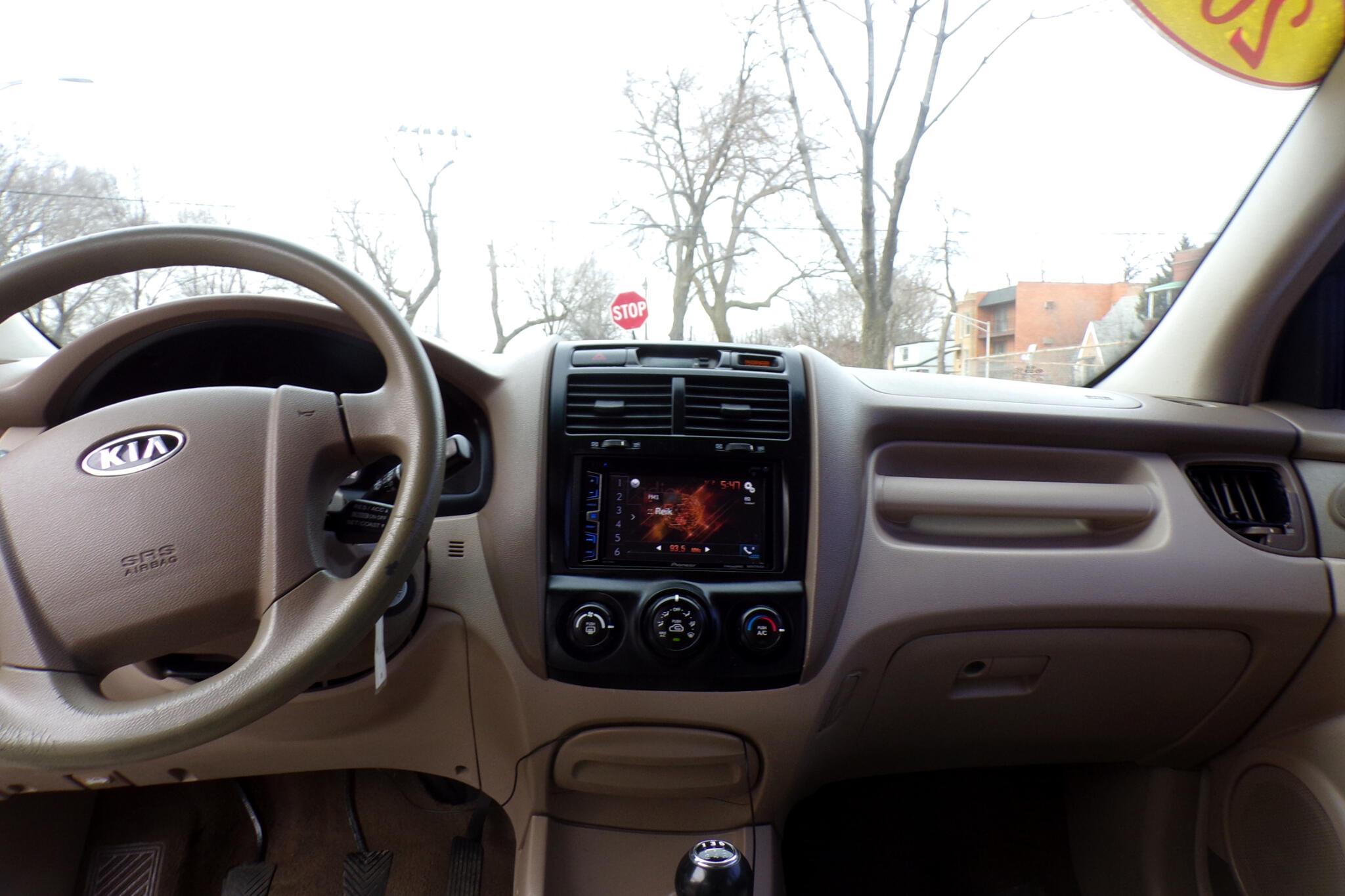 2007 Kia Sportage 2WD 4dr I4 Manual LX