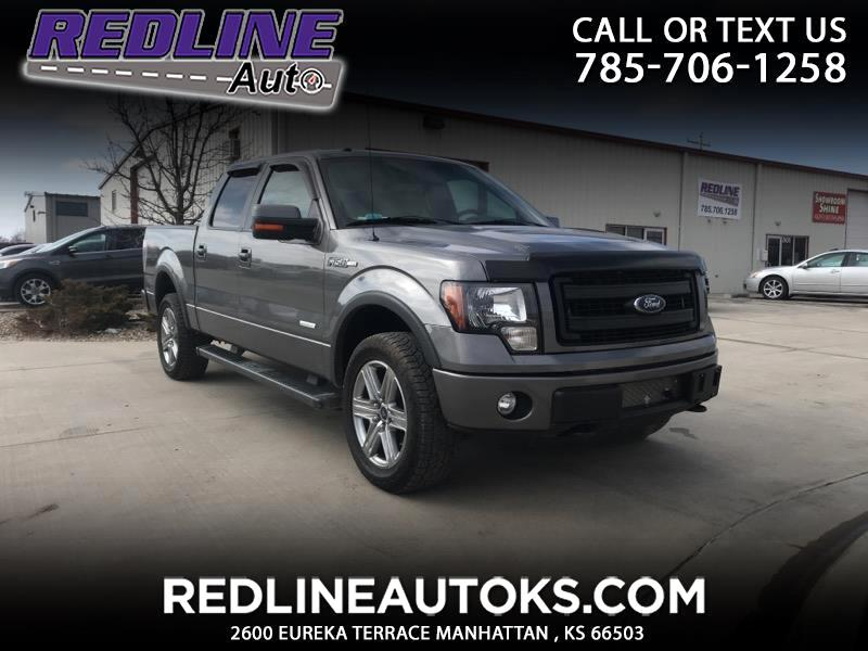 "2013 Ford F-150 4WD SuperCrew 139"" FX4"