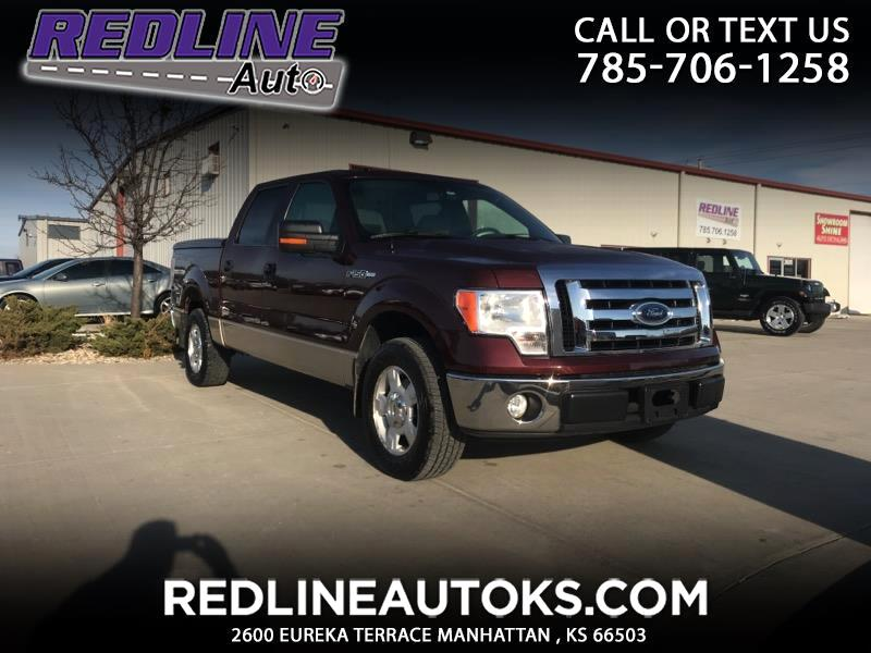 "2009 Ford F-150 2WD SuperCrew 139"" XLT"
