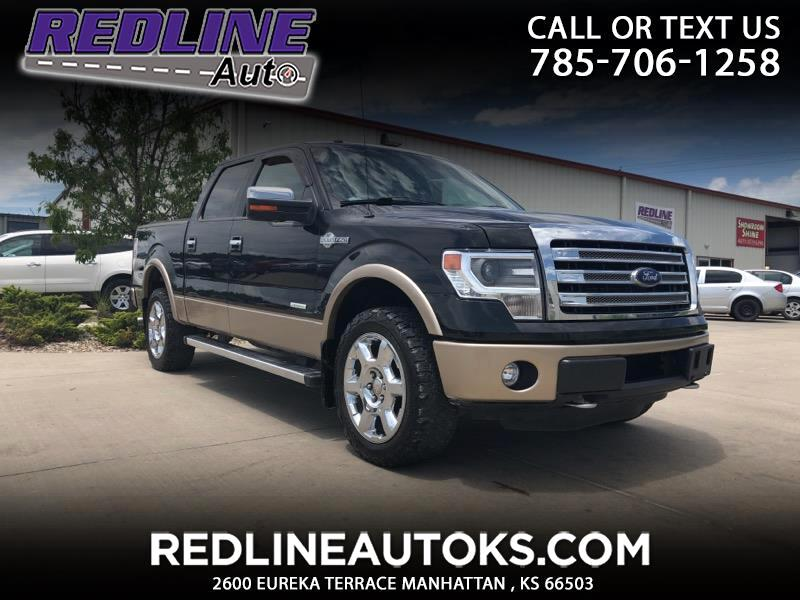 """2013 Ford F-150 4WD SuperCrew 145"""" King Ranch"""