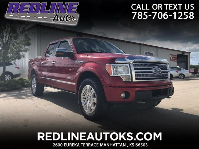 "2011 Ford F-150 4WD SuperCrew 145"" Platinum"