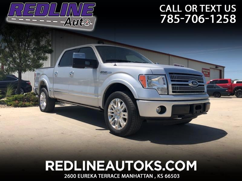 "2010 Ford F-150 4WD SuperCrew 145"" Platinum"