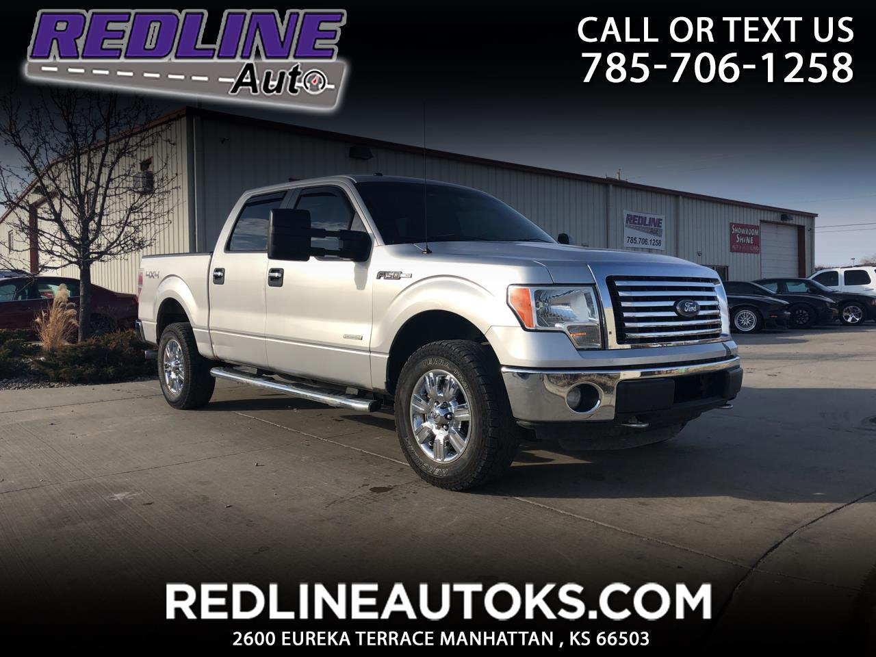 Ford F-150 Lariat SuperCrew 4WD 2012