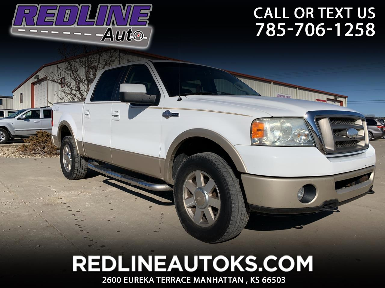 "Ford F-150 SuperCrew 139"" King Ranch 4WD 2008"