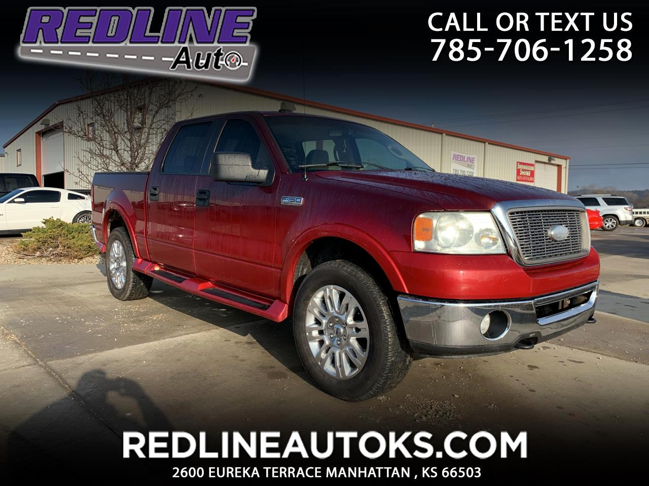 "Ford F-150 4WD SuperCrew 145"" Lariat 2006"