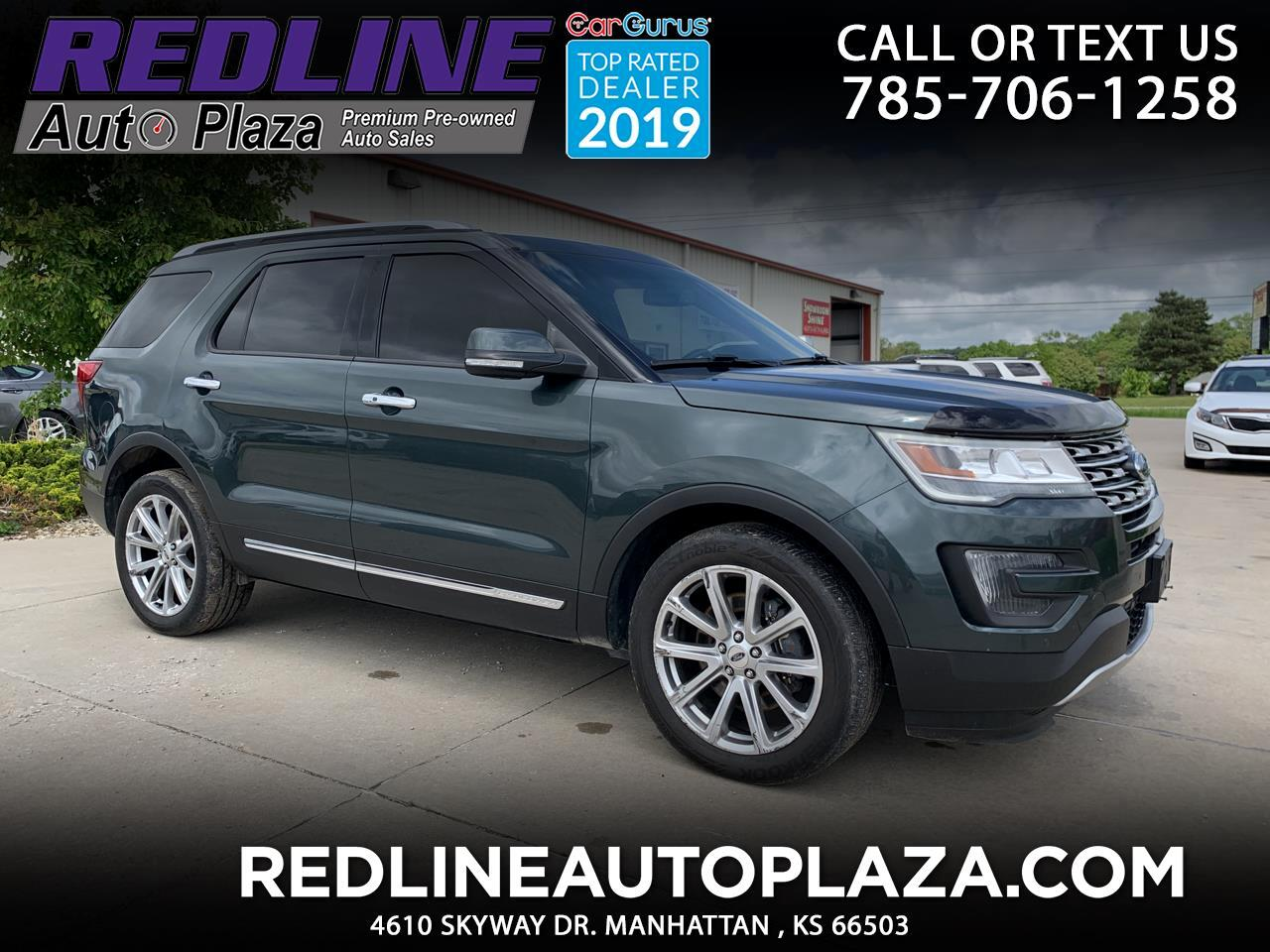 Ford Explorer 4WD 4dr Limited 2016