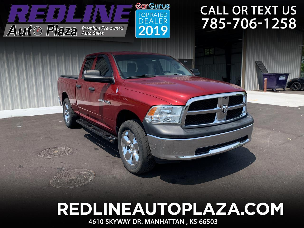 "Dodge 1500 4WD Quad Cab 140.5"" Tradesman 2012"