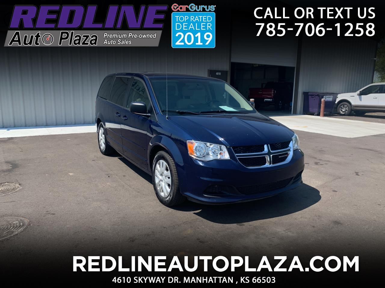 Dodge Grand Caravan 4dr Wgn SE 2016