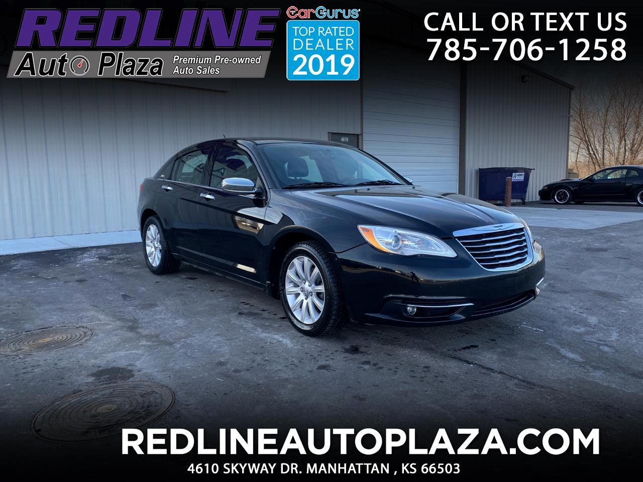 Chrysler 200 4dr Sdn Limited 2013
