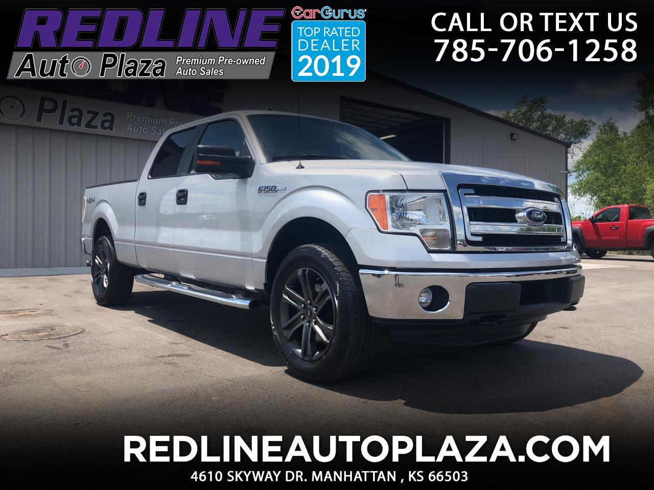 """Ford F-150 SuperCrew 150"""" FX4 4WD 2014"""