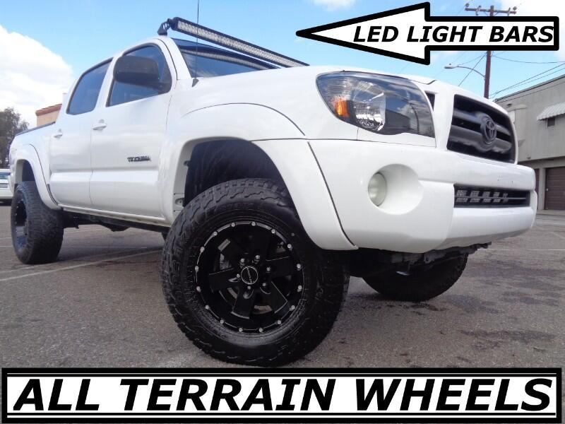 2007 Toyota Tacoma PRERUNNER DOUBLE CAB LIFTED TRD WITH ALL TERRAIN W