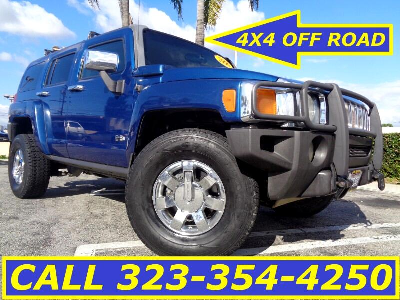 2006 HUMMER H3 4X4 OFF ROAD WITH GRILL GUARD
